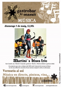 Vermutis al Sol_ Martini´s Blues Trio