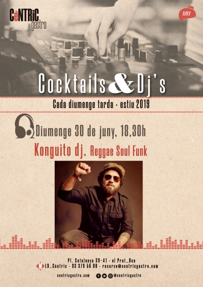 Cocktails & Djs_ Konguito dj