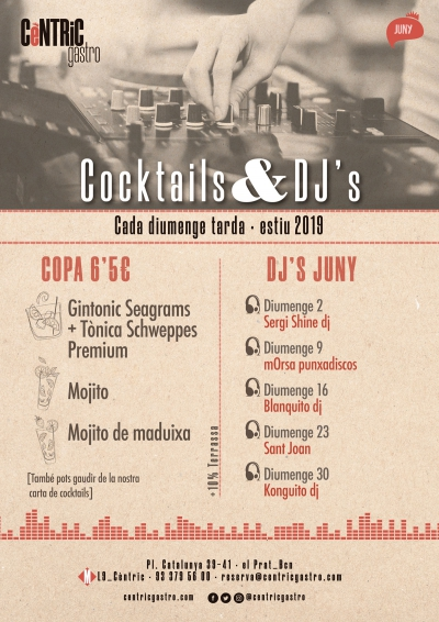 Cocktails & Djs_ Junio
